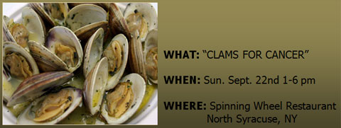 Clams for Cancer 2013